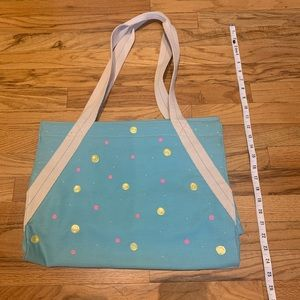 Hand painted -functional tote (personalize option)